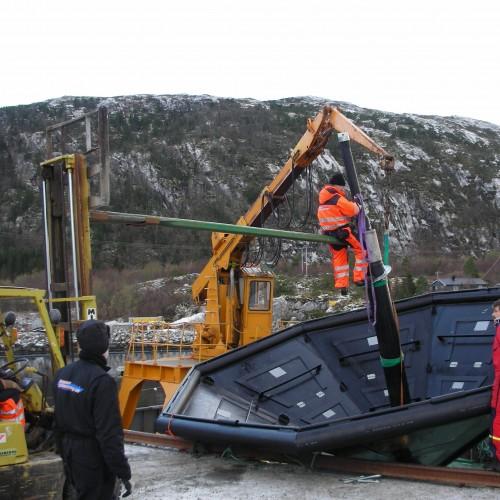 Montering av Pumperør i vannanker